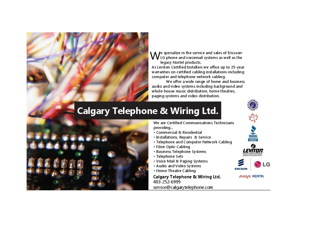 more about calgary telephone & wiring ltd